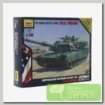 'ZVEZDA' Модель для сборки без клея №06 7405 Американский осн. боевой танк Абрамс М1А1 1/100