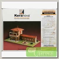 'KERANOVA' Конструктор из обожженной глины СК №2 'Монастырский дворик' 942 элемент.