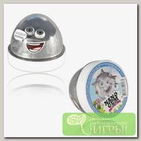 'Nano Gum' Пластилин для лепки 'Жвачка для рук' 02 'Эффект серебра' / 'Сильвер' NGCCS50 / NG5014SI