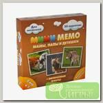 Игра настольная 'Нескучные игры' Ми-Ми-Мемо 'Домашние животные'