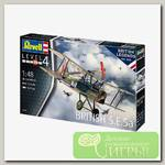 'Revell' 03907 Модель сборная Боевой биплан BRITISH S.E. 5A 1/48