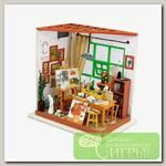 Интерьер в миниатюре 'DIY House' 'Художественная мастерская' 19 x 13.5 x 19 см DG103 1/43