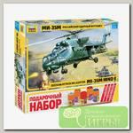 'ZVEZDA' Набор №31 для моделирования подарочный 7276П Российский ударный вертолет 'Ми-35М' 1/72