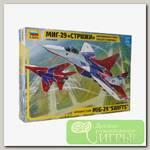 'ZVEZDA' 7310 Модель сборная Авиационная группа высшего пилотажа МиГ-29 'Стрижи'