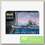 'Revell' 05161 Модель сборная Линкор HMS King George V 1/1200
