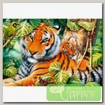 'Trefl' Пазл 1500 элемент. 'Два тигра'