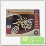 'Чудо-дерево' Модель сборная деревянная 'Техника' №23 80065 Внедорожный мотоцикл