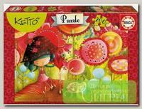 'EDUCA' Пазл №1 200 элемент. 'Цветы джунглей Ketto'