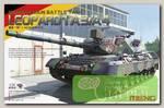 'MENG' 'танк' German Main Battle Tank Leopard 1 A3/A4 1/35
