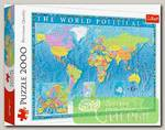 'Trefl' Пазл 2000 элемент. 'Политическая карта мира'