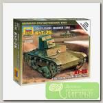 'ZVEZDA' Модель для сборки без клея №02 6165 Советский огнеметный танк Т-26 1/100