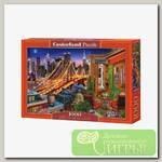 'Castorland' Пазл 1000 элемент. Огни Бруклинского моста