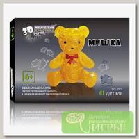 '3D Puzzle' Магический кристалл №02 Медвежонок 41 элемент.