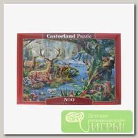 'Castorland' Пазл 500 элемент. Лесные обитатели