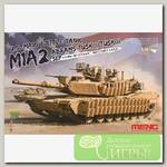 'MENG' 'танк' U.S. MAIN BATTLE TANK M1A2 SEP ABRAMS TUSK I/TUSK II 1/35