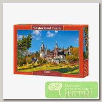 'Castorland' Пазл 500 элемент. Замок Пелеш. Румыния