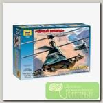 'ZVEZDA' 7232 Модель сборная Российский вертолет-невидимка 'Черный призрак'