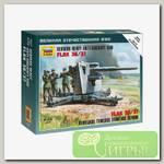 'ZVEZDA' Модель для сборки без клея №05 6158 Немецкое тяжелое зенитное орудие FLAK 36/37 1/72