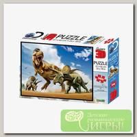'Prime 3D' Пазл Super 3D 500 элемент. 'Тираннозавр против трицератопса' лиц. Discovery