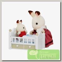 'Sylvanian Families' Набор 'Малыш и детская кроватка'