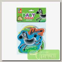'Vladi Toys' Мягкие пазлы Baby puzzle 5 элемент. 'Животные'
