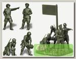 'ZVEZDA' Сборные фигурки №01 6132 Советский штаб 1941-1943гг. 1/72