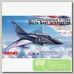 'MENG' DS-006 'самолёт' CONVAIR F-106A DELTA DART INTERCEPTOR 1/72