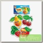 'Vladi Toys' Мягкие пазлы Baby puzzle 5 элемент. 'Фрукты'