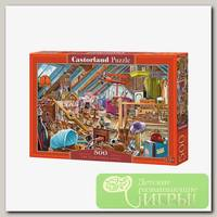 'Castorland' Пазл 500 элемент. Захламленный чердак