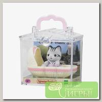 'Sylvanian Families' Набор 'Младенец в пластиковом сундучке' котенок в люльке