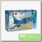 'ZVEZDA' №63 Модель для сборки 7217 'Самолет Су-39' 1/72
