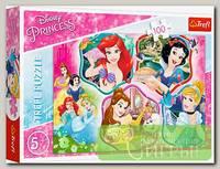 'Trefl' Пазл 100 детские (Дисней) 100 элемент. 'Очаровательные принцессы'