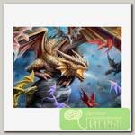 'Prime 3D' Пазл Super 3D №1 500 элемент. 'Клан дракона'