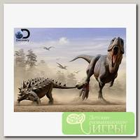 'Prime 3D' Пазл Super 3D №1 500 элемент. 'Дасплетозавр против эвоплоцефала'