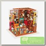 Интерьер в миниатюре 'DIY House' 'Кабинет' 22.5 x 18.5 x 19 см DG102 1/43