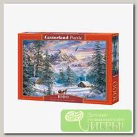 'Castorland' Пазл 1000 элемент. Зимой в горах
