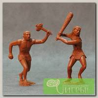 'АРК модел' Набор из 2 фигурок 150 мм 80010 Пещерные люди №1 Не в масштабе