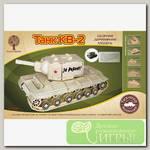 'Чудо-дерево' Модель сборная деревянная 'Техника' №19 80034 Танк КВ-2