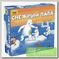 Игра настольная 'ZVEZDA' 'Снежный папа'