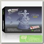 '3D Puzzle' Магический кристалл 'Знаки Зодиака' со светом №1 Стрелец 40 элемент