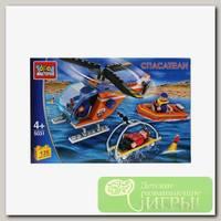 'Город мастеров' Конструктор 'Спасательный вертолет, с фигурками' 135 элемент.