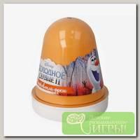 'Kiki' Slime Fluffy 'Морковный фреш' Оранжевый