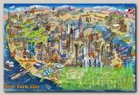 'EDUCA' Пазл №17 500 элемент. 'Карта Нью-Йорка'