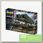 'Revell' 03307 Модель сборная Танк Leopard 1A5 & Bridgelayer 'Biber' 1/72