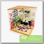 Интерьер в миниатюре 'DIY House' 'Гостиная' 20 x 18.5 x 18.7 см DG106 1/43