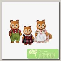 'Sylvanian Families' Набор 'Семья Красных панд', 3 фигурки
