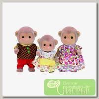 'Sylvanian Families' Набор 'Семья Обезьян', 3 фигурки