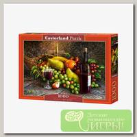 'Castorland' Пазл 1000 элемент. Фрукты и вино