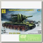 'МОДЕЛИСТ' Модель сборная танк №09 303528 Танк КВ-2 с башней МТ-1 1/35