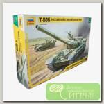 'ZVEZDA' №67 Модель для сборки 3590 Российский основной боевой танк Т-80Б 1/35